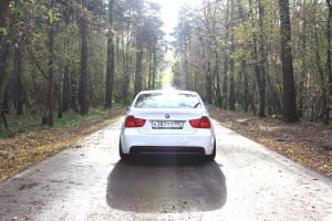 Autumn photoset of Slammed BMW E90 10 by BlackSelf91