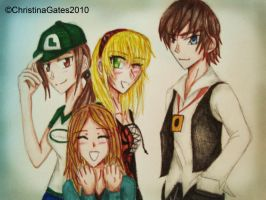 AX Gang by broken-with-roses