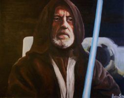 Ben Kenobi by ARTforNERDS