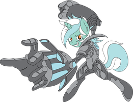 Mecha lyra by Fluttershy750