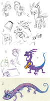 Sketchdump II by Frozenspots