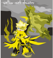 yellow rock shooter by Grim-paper