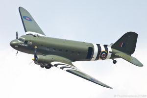 C-47 Dakota by Thunderbolt120