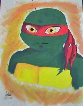 Raph - Portrait by Lost-InMyWonderland