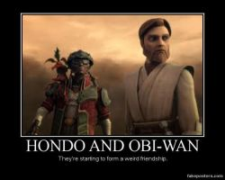 Hondo and Obi-Wan by Onikage108