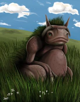 Meadow Troll by AnatomicalBomb