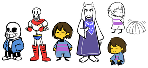 Undertale dump by BananimationOfficial