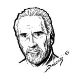 Christopher Lee by AlessiaPelonzi