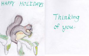 DeviantArt Holiday Card 2013 #3 by outlire
