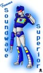 SOUNDWAVE SUPERIOR by PirateNikki