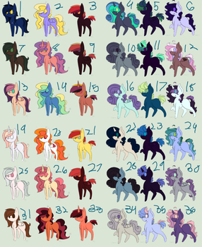 10 point adopts (Open) by PhantomPhoenixFrost