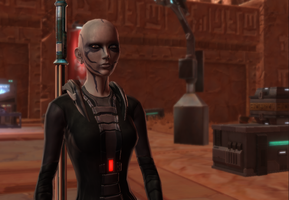 My Old Republic Character ~ Vitani Stryker by JessicaBane501