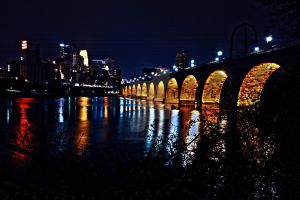 Stone Arch Bridge HDR by CryPticS0ul