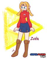 Zelda - Mario High Concept by Furboz