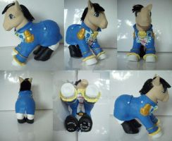 My little Pony Custom Lucrezia by BerryMouse