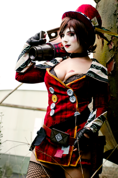 Mad Moxxi - Say No by DustbunnyCosplay