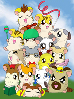 Hamtaro is comming! by NanaRamos