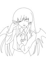 Lilith - My Demon Girl - Outline by TisMatty