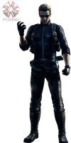 Albert Wesker - Revelations 2 [PNG] by 972oTeV