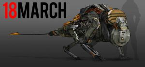 March of Robots 18 by yongs