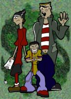 Ed, Edd, and Eddy by kingofsnake