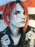 Gerard Way by SavanasArt