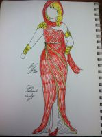 Dress Project:  Wonder Girl by snowtigra