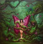 Jungle Fairy. by ChristopherPollari