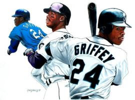 ken griffey jr. by Fallenstar1761