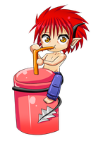 Want some of my drink ? by SugarYuyu
