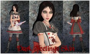A:MR Skin - Dark Feelings by EvanescentAngel666