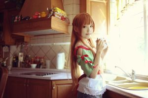 Asuna Cooking by angie0-0