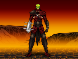 The Oni Tormentor by Vectorman316
