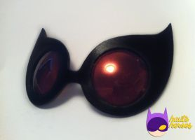 Catwoman Goggles by teenygeek