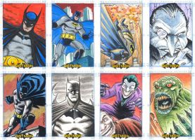 Batman Sketchcards 02 by dichiara