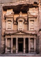 The Treasury of Petra by rrreese