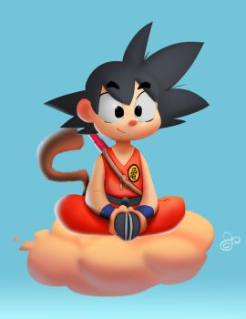 Son Goku by ThePatoNegro