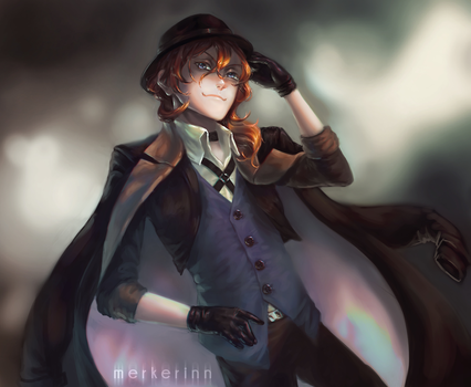 Chuuya (christmas gift for sister) by merkerinn