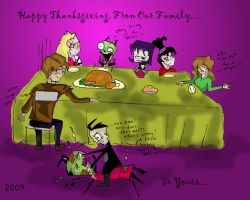 Happy Thanksgiving 2009 by RachelEwok
