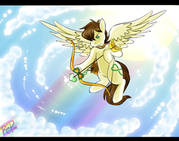 God of Light by Skittledeedoo