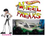 wheel freaks character scorpiana by NickMaster64
