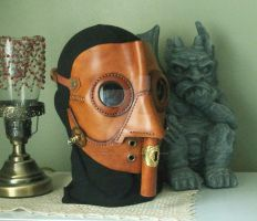 Steampunk Gas Mask WW1 inspired by JoannaCorrinCoutures