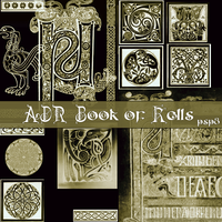 aDr Book of Kells for PSP8 by ashadevirasa