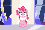 Crazy Pinkie Pie vector (HD) by IvaCatheriaNoid