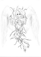 Entrenched Angel by EnigamiS