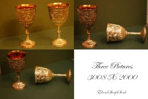 Golden Goblets by ElvenSheepStock