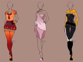 Fashion Adoptables 7 - CLOSED by Karijn-s-Basement