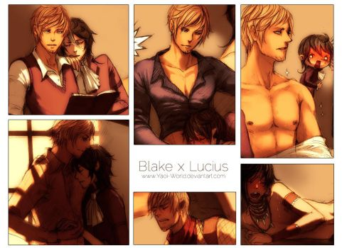 Yaoi Commission Spicy: Blake x Lucius by Yaoi-World