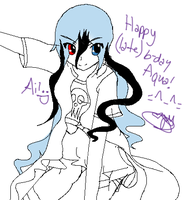 Ai: Late BDay gift for Aquamista by khfan12