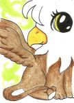 ACEO - Baby griffin by purenightshade